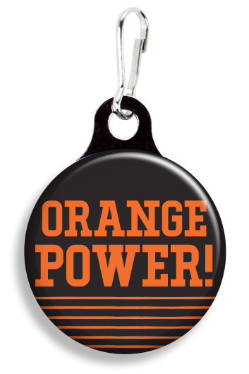 OK State Orange Power - Fetch Life Pet Outfitters Dog & Cat Collar Clips