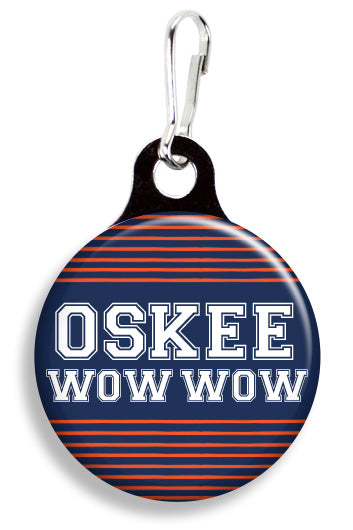 Illinois Oskee Wow Wow - Fetch Life Pet Outfitters Dog & Cat Collar Clips
