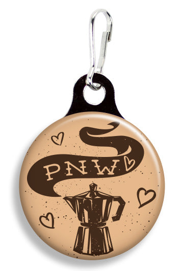 PNW Coffee Pot - Fetch Life Pet Outfitters Dog & Cat Collar Clips