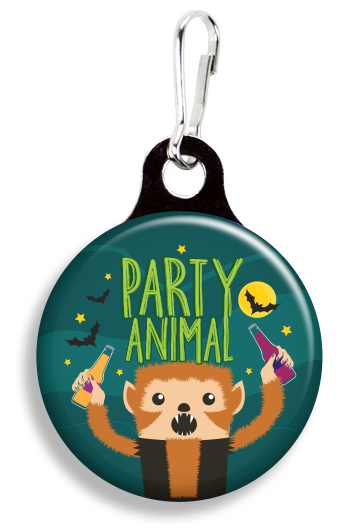 Party Animal - Fetch Life Pet Outfitters Dog & Cat Collar Clips