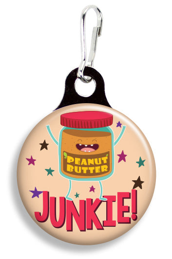 Peanut Butter Junkie - Fetch Life Pet Outfitters Dog & Cat Collar Clips