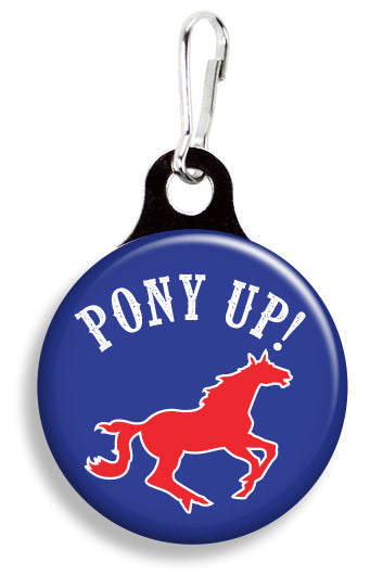 SMU Pony Up - Fetch Life Pet Outfitters Dog & Cat Collar Clips