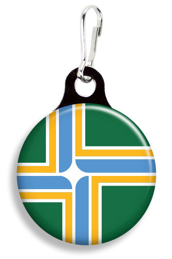 Portland Flag - Fetch Life Pet Outfitters Dog & Cat Collar Clips