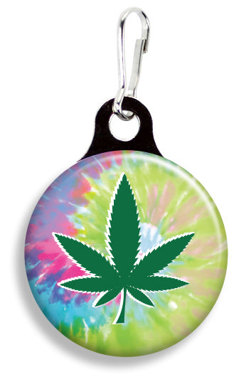 Pot Leaf Tie Dye - Fetch Life Pet Outfitters Dog & Cat Collar Clips