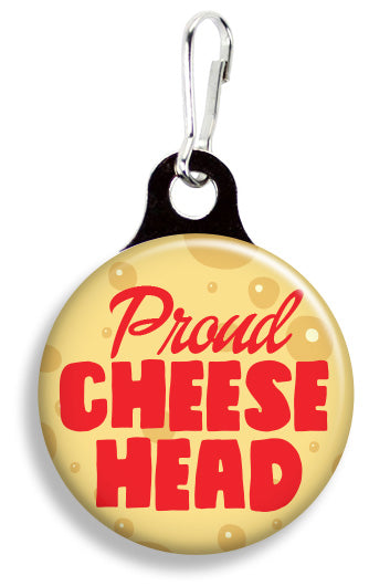 Proud Cheesehead - Fetch Life Pet Outfitters Dog & Cat Collar Clips