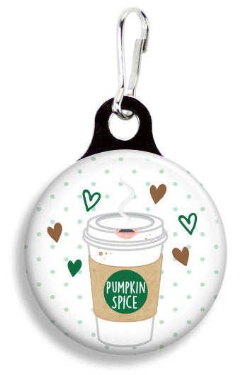 Pumpkin Spice Latte - Fetch Life Pet Outfitters Dog & Cat Collar Clips