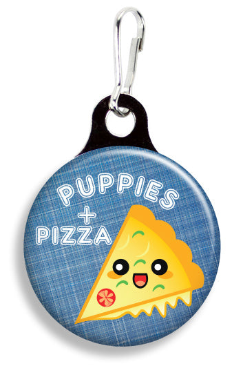 Puppies & Pizza - Fetch Life Pet Outfitters Dog & Cat Collar Clips