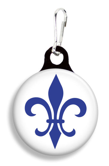 Quebec Fleur de Lis Flag - Fetch Life Pet Outfitters Dog & Cat Collar Clips