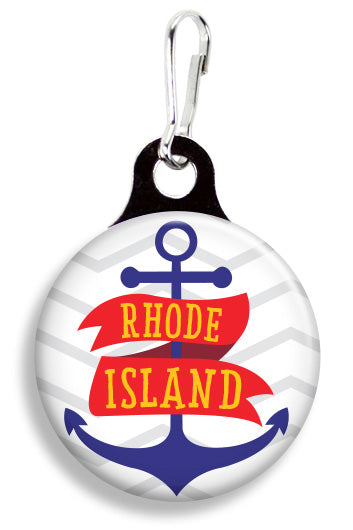 Rhode Island Anchor - Fetch Life Pet Outfitters Dog & Cat Collar Clips