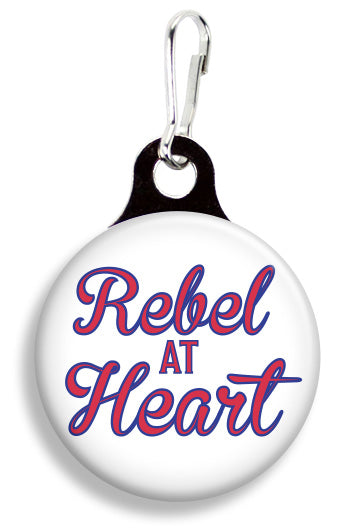 Ole Miss Rebel at Heart - Fetch Life Pet Outfitters Dog & Cat Collar Clips