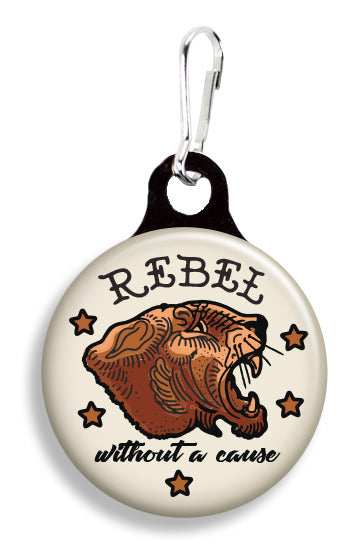 Tattoo Rebel Without a Cause - Fetch Life Pet Outfitters Dog & Cat Collar Clips