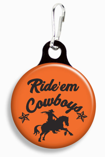 OK State Ride 'Em Cowboys - Fetch Life Pet Outfitters Dog & Cat Collar Clips