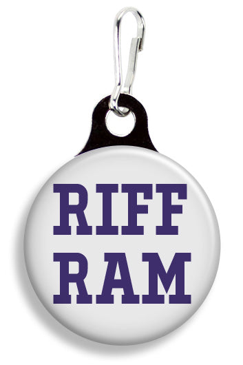 TCU Riff Ram - Fetch Life Pet Outfitters Dog & Cat Collar Clips