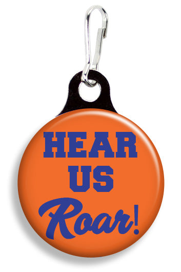 Clemson Hear Us Roar - Fetch Life Pet Outfitters Dog & Cat Collar Clips
