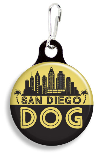 San Diego Dog - Fetch Life Pet Outfitters Dog & Cat Collar Clips