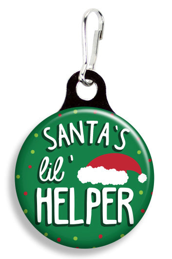 Santa's Little Helper - Fetch Life Pet Outfitters Dog & Cat Collar Clips