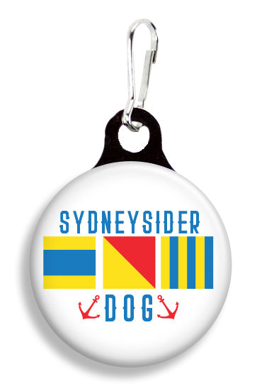 Sidneysider Nautical Flag - Fetch Life Pet Outfitters Dog & Cat Collar Clips