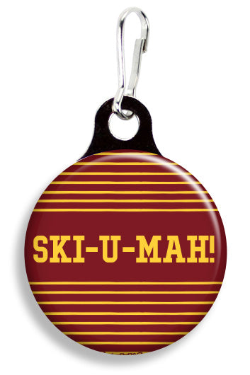 Minnesota Ski U Mah - Fetch Life Pet Outfitters Dog & Cat Collar Clips