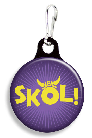 Minnesota Skol - Fetch Life Pet Outfitters Dog & Cat Collar Clips