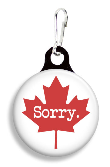 Maple Leaf Sorry - Fetch Life Pet Outfitters Dog & Cat Collar Clips