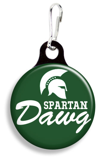 MSU Spartan Dawg - Fetch Life Pet Outfitters Dog & Cat Collar Clips