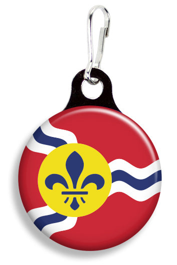St. Louis Flag - Fetch Life Pet Outfitters Dog & Cat Collar Clips