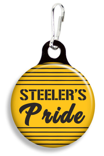 Steelers Pride - Fetch Life Pet Outfitters Dog & Cat Collar Clips