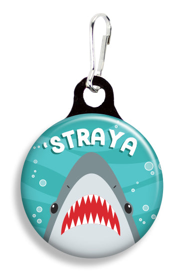'Straya Shark - Fetch Life Pet Outfitters Dog & Cat Collar Clips