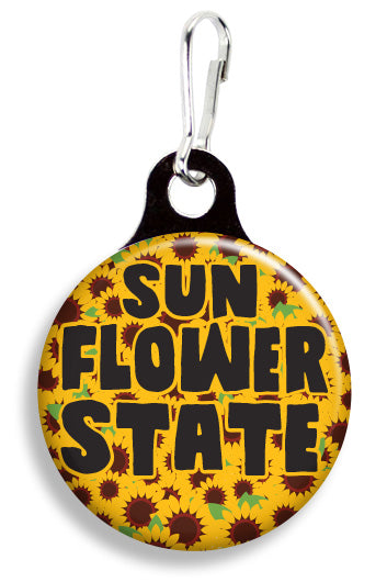 Sunflower State - Fetch Life Pet Outfitters Dog & Cat Collar Clips
