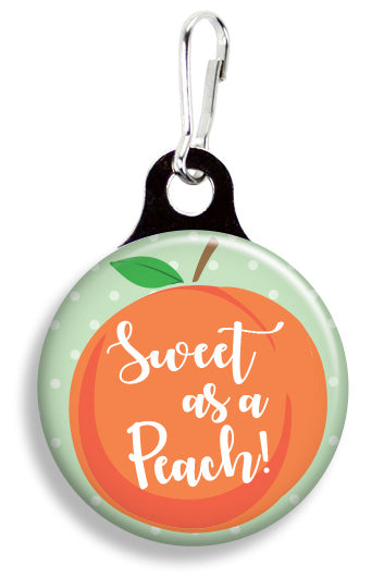 Sweet as a Peach - Fetch Life Pet Outfitters Dog & Cat Collar Clips