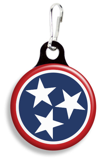 Tennessee Flag - Fetch Life Pet Outfitters Dog & Cat Collar Clips