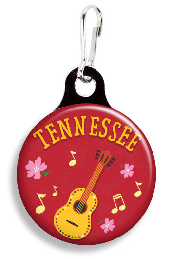 Tennessee Guitar - Fetch Life Pet Outfitters Dog & Cat Collar Clips