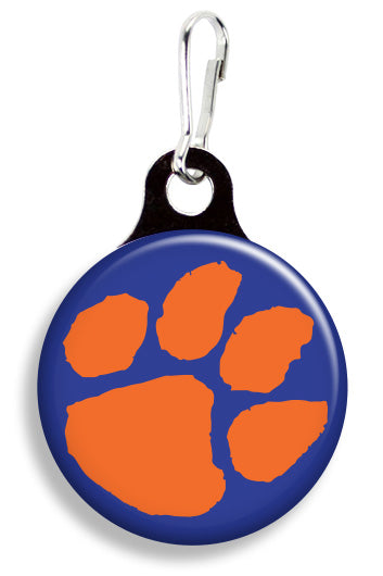 Clemson Tiger Paw - Fetch Life Pet Outfitters Dog & Cat Collar Clips