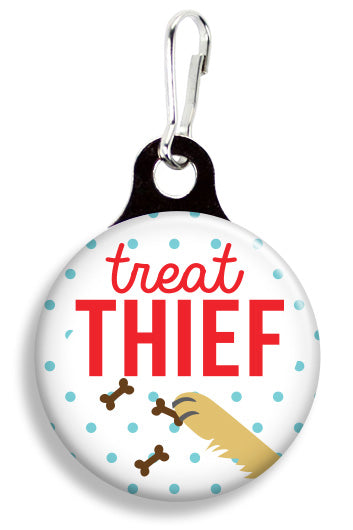 Treat Thief - Fetch Life Pet Outfitters Dog & Cat Collar Clips