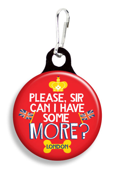 Please Sir, Can I Have Some More? - Fetch Life Pet Outfitters Dog & Cat Collar Clips
