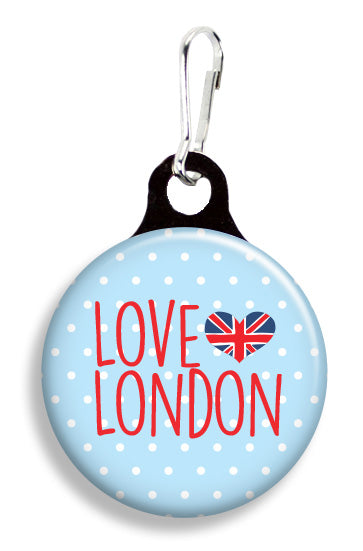 Love London - Fetch Life Pet Outfitters Dog & Cat Collar Clips