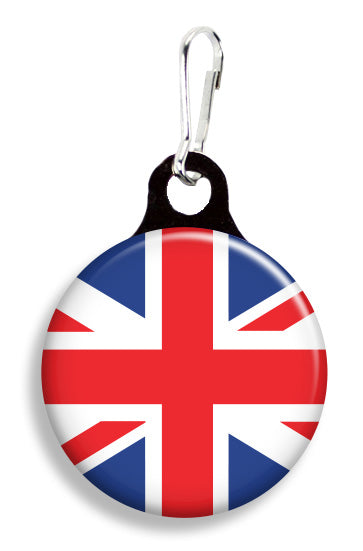 Union Jack Flag - Fetch Life Pet Outfitters Dog & Cat Collar Clips