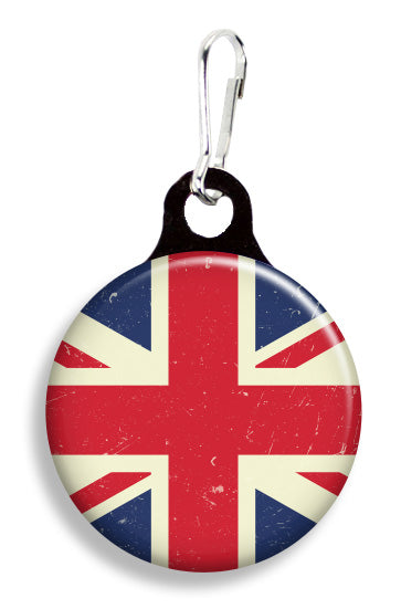 Vintage Union Jack Flag - Fetch Life Pet Outfitters Dog & Cat Collar Clips