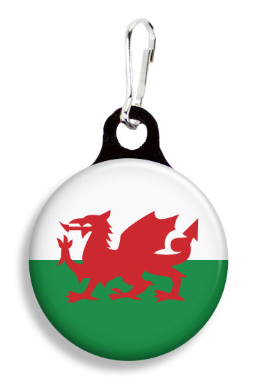 Welsh Flag - Fetch Life Pet Outfitters Dog & Cat Collar Clips