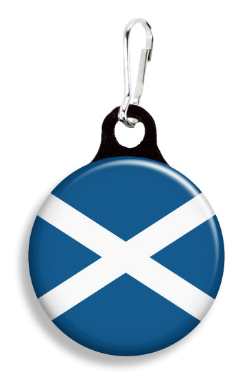 Scottish Flag - Fetch Life Pet Outfitters Dog & Cat Collar Clips