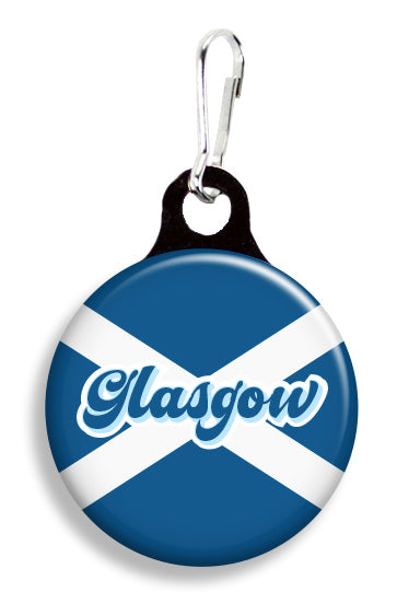 Glasgow Scotland Flag - Fetch Life Pet Outfitters Dog & Cat Collar Clips