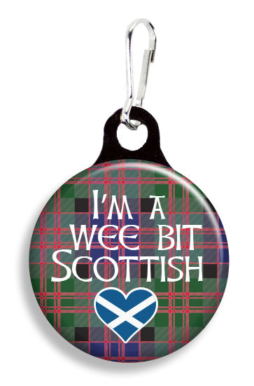 Wee Bit Scottish - Fetch Life Pet Outfitters Dog & Cat Collar Clips