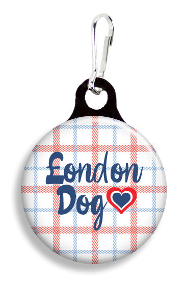Plaid London Dog - Fetch Life Pet Outfitters Dog & Cat Collar Clips