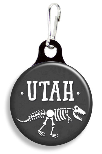 Utah Dinosaurs - Fetch Life Pet Outfitters Dog & Cat Collar Clips