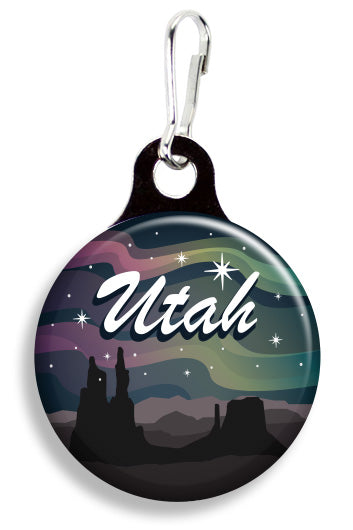 Utah Stars - Fetch Life Pet Outfitters Dog & Cat Collar Clips