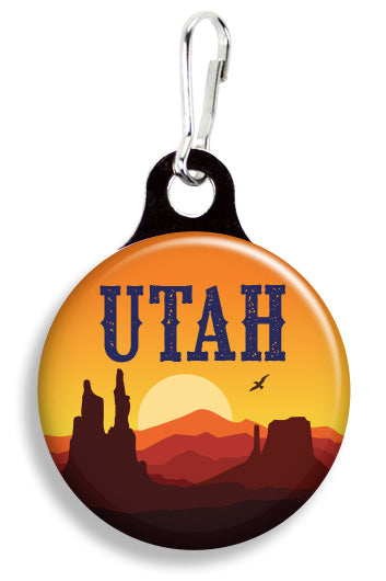 Utah Sunrise - Fetch Life Pet Outfitters Dog & Cat Collar Clips