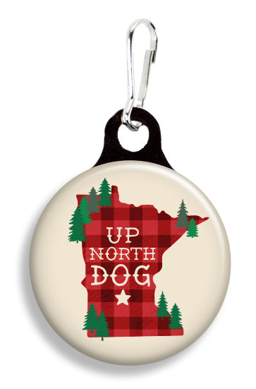 Minnesota Up North Dog - Fetch Life Pet Outfitters Dog & Cat Collar Clips