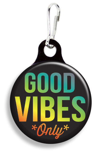 Good Vibes Rainbow - Fetch Life Pet Outfitters Dog & Cat Collar Clips