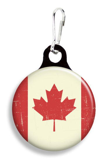 Vintage Canadian Flag - Fetch Life Pet Outfitters Dog & Cat Collar Clips
