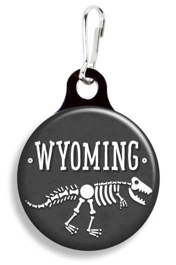 Wyoming Dinosaurs - Fetch Life Pet Outfitters Dog & Cat Collar Clips